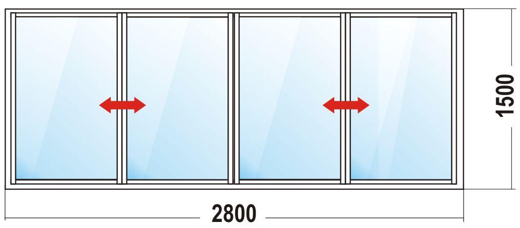 Стоимость остекления балконов.